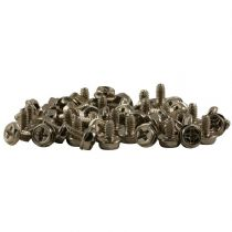 Pack of 50 Computer Screws 6-32 x 6mm in length